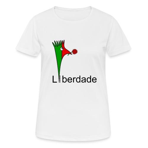 Galoloco - Liberdaded - 25 Abril - Frauen T-Shirt atmungsaktiv