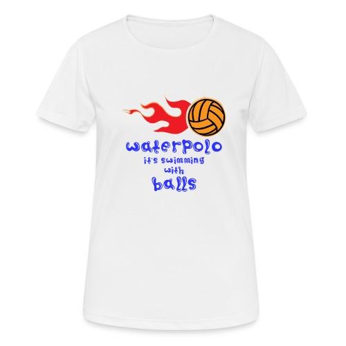Waterpolo - Maglietta da donna traspirante