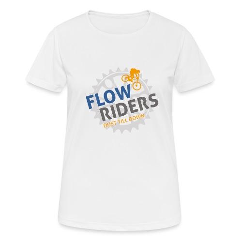 FLOWRIDERS - dust till down - Frauen T-Shirt atmungsaktiv