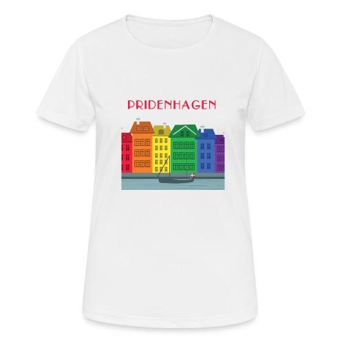 PRIDENHAGEN NYHAVN T-SHIRT - Dame T-shirt svedtransporterende