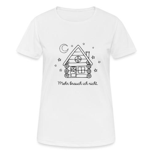 Hütte Spruch Canada Geschenk Outdoor Abenteuer - Frauen T-Shirt atmungsaktiv