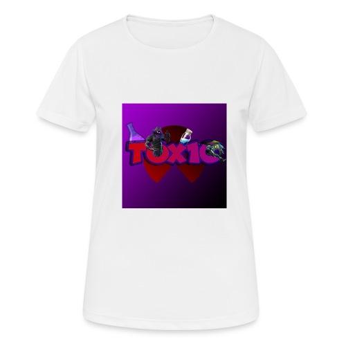 toxic paita - naisten tekninen t-paita
