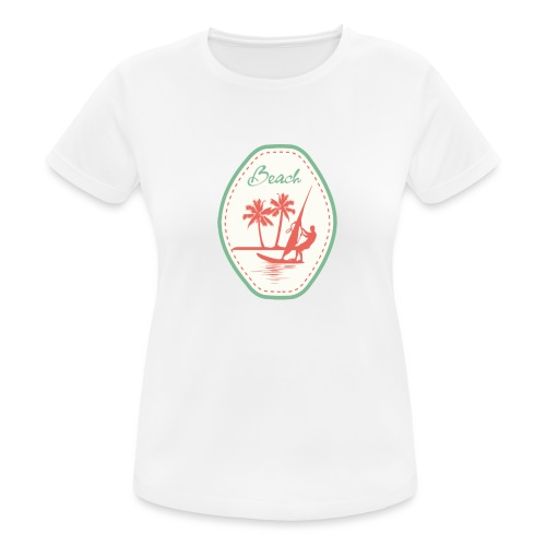 Beach - Women's Breathable T-Shirt