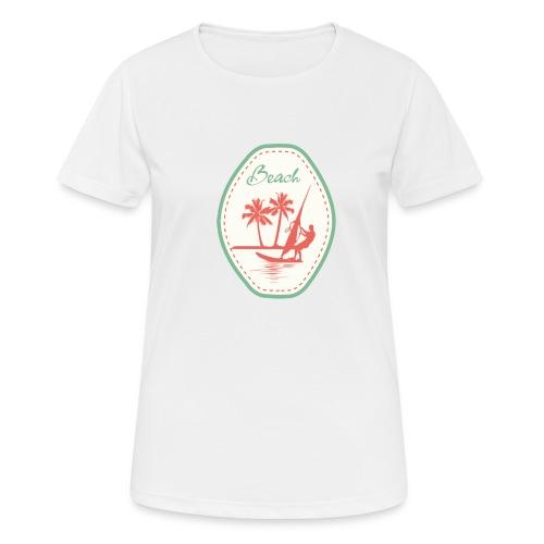 Beach - Women's Breathable T-Shirt