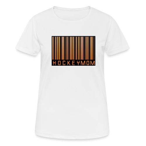 Hockey Mom Mamma Äiti Mother - Andningsaktiv T-shirt dam