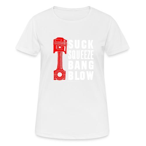 Piston - Women's Breathable T-Shirt