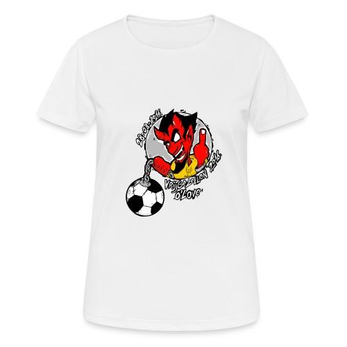 ontwerp_vrijgezellen3 - Vrouwen T-shirt ademend actief