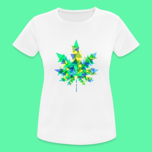 Mary Jane blue - Dame T-shirt svedtransporterende