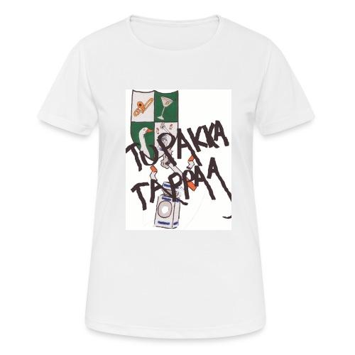 Tupakka tappaa - naisten tekninen t-paita
