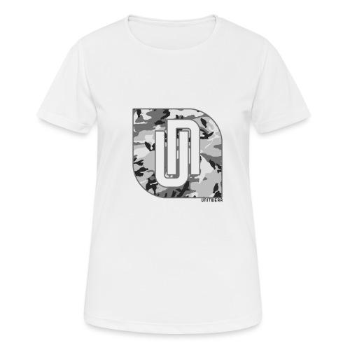 Unitwear – Camo UN Tshirt - Vrouwen T-shirt ademend actief
