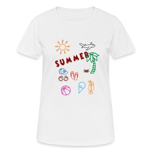 Summer - naisten tekninen t-paita