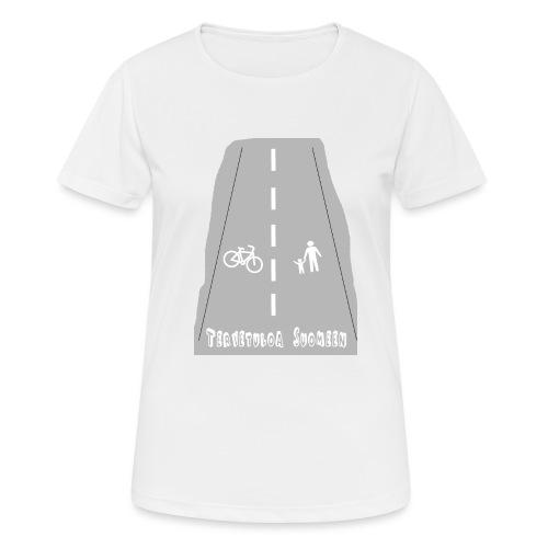 Tervetuloa Suomeen - naisten tekninen t-paita