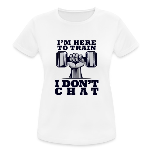 Train Chat - naisten tekninen t-paita