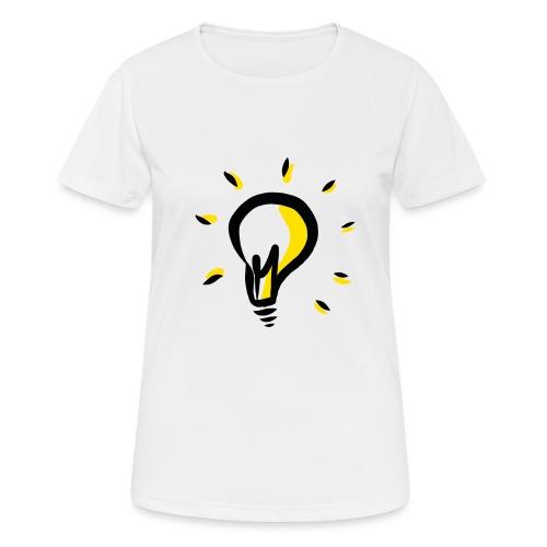 Geistesblitz - Frauen T-Shirt atmungsaktiv