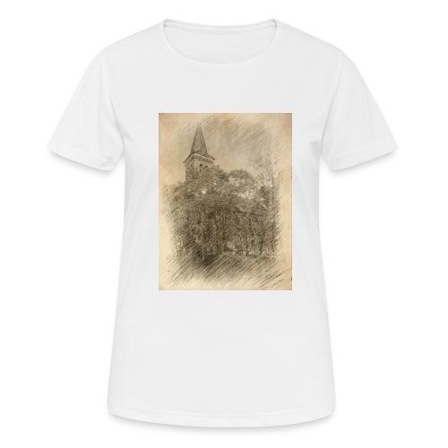 Baalberger Kirche - Frauen T-Shirt atmungsaktiv