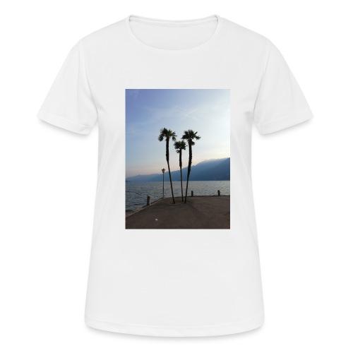 Palmen - Frauen T-Shirt atmungsaktiv