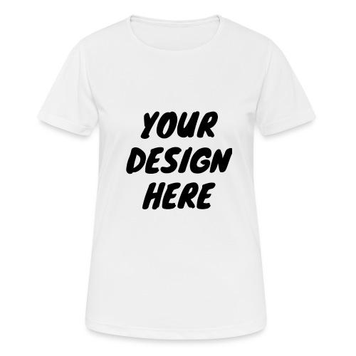 printfile front 9 - Andningsaktiv T-shirt dam