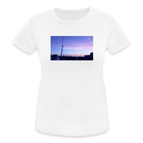 Purple Timing - Women's Breathable T-Shirt
