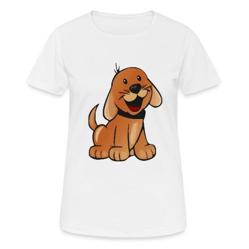 cartoon dog - Maglietta da donna traspirante