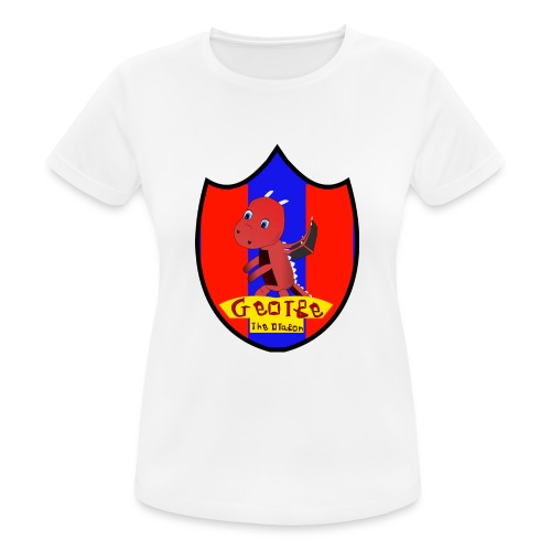 George The Dragon - Women's Breathable T-Shirt