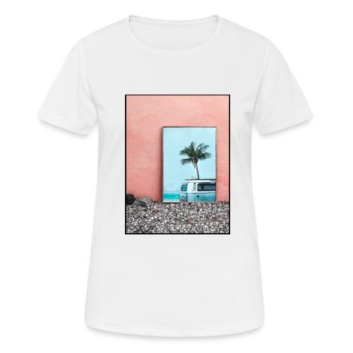 Palm Beach - Maglietta da donna traspirante