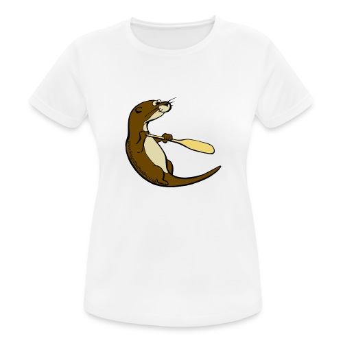 Song of the Paddle; Quentin classic pose - Women's Breathable T-Shirt