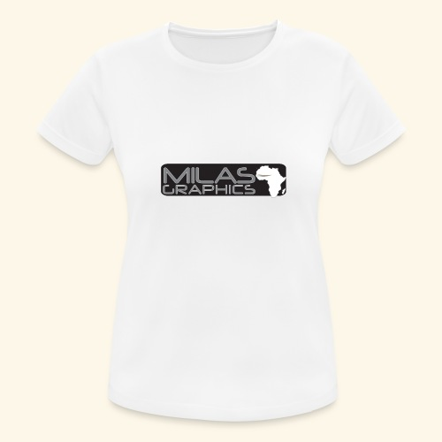 Milas Graphics Africa - T-shirt respirant Femme