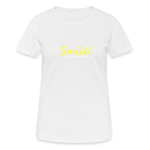 Smile for Sex - Frauen T-Shirt atmungsaktiv