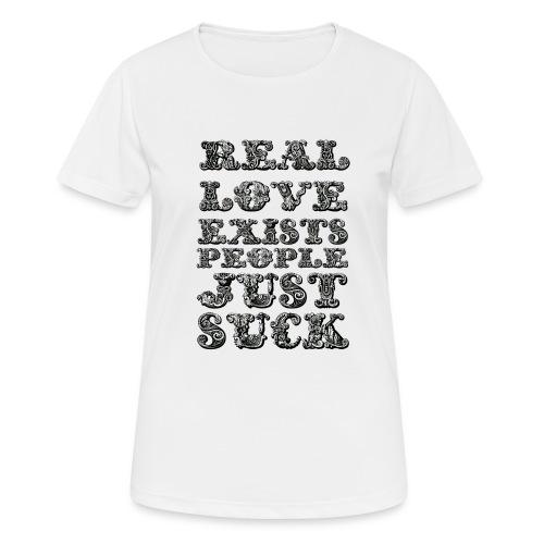 Real Love Exists REBEL INC. - Koszulka damska oddychająca
