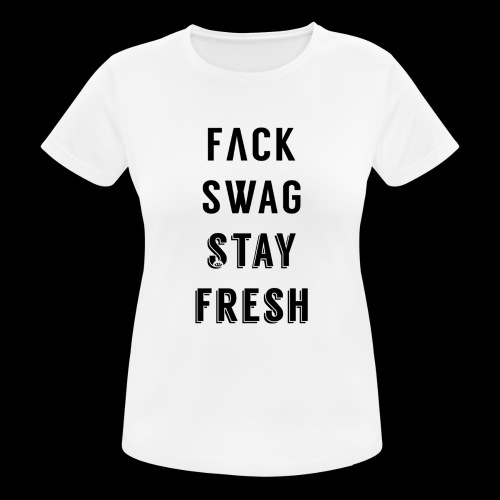 Fack Swag Tee - Camiseta mujer transpirable