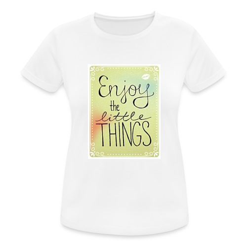 LITTLE_THINGS - Vrouwen T-shirt ademend actief