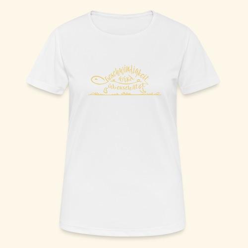 Mein Tempo - Schildkröte - Frauen T-Shirt atmungsaktiv