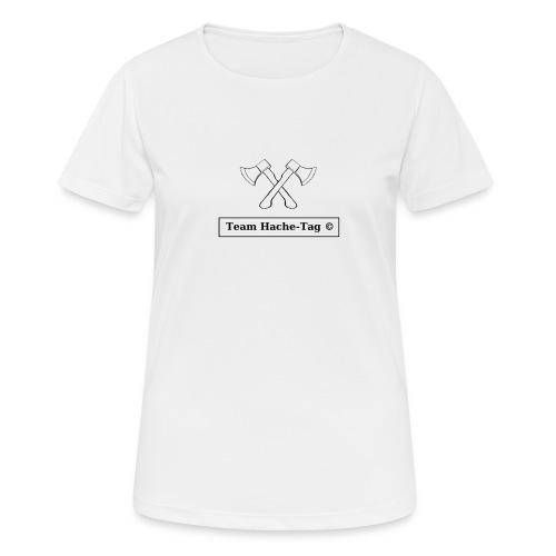Logo Team Hache-Tag - T-shirt respirant Femme