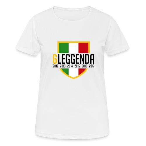 6LEGGENDA - Maglietta da donna traspirante