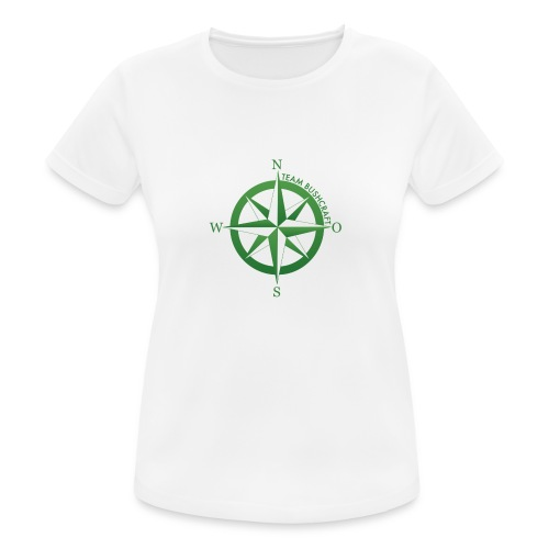 Team Bushcraft Kompass - Frauen T-Shirt atmungsaktiv