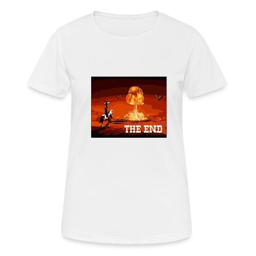 THE END (version 2 : pour toute couleur de fond) - T-shirt respirant Femme
