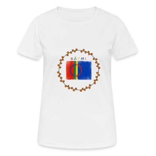 Sapmi - Pustende T-skjorte for kvinner