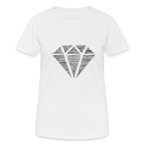 Diamante - Camiseta mujer transpirable