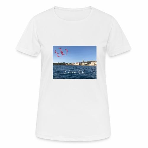I love Rab - Frauen T-Shirt atmungsaktiv