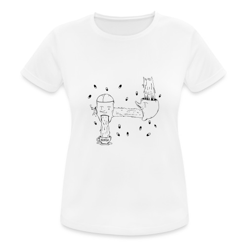 heads opinion - Women's Breathable T-Shirt