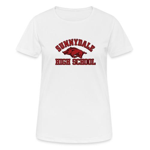 Sunnydale High School logo merch - Vrouwen T-shirt ademend actief