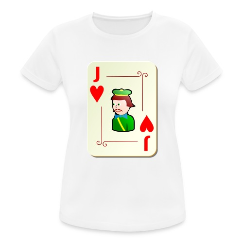 Jack Hearts png - Women's Breathable T-Shirt