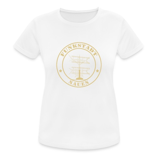Goldener Funker - Frauen T-Shirt atmungsaktiv