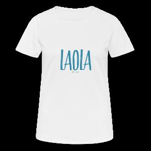 ola - Camiseta mujer transpirable