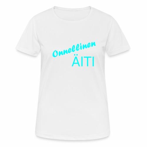 Onnellinen Äiti - naisten tekninen t-paita