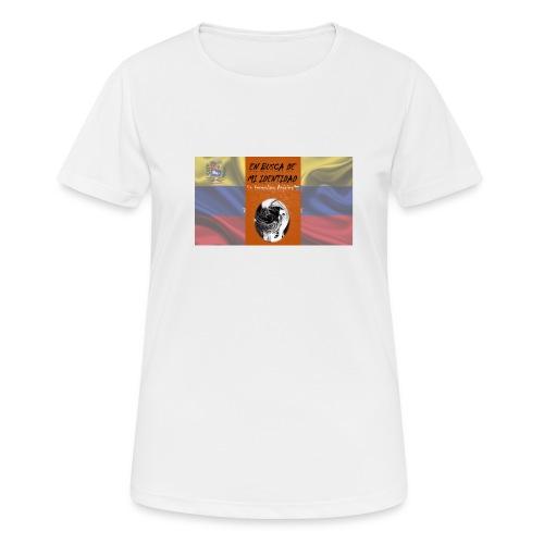 Venezuela lucha sola - Camiseta mujer transpirable