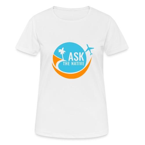 Ask the Native Original Logo - Vrouwen T-shirt ademend actief