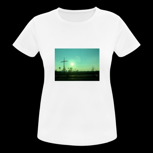 pollution - vrouwen T-shirt ademend