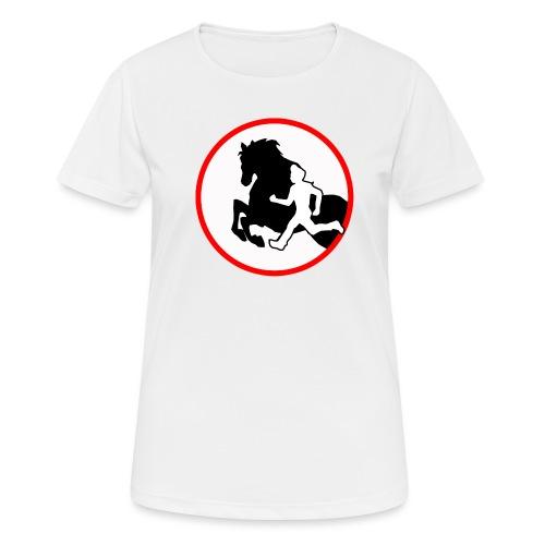 Horse Agility Logo - Frauen T-Shirt atmungsaktiv