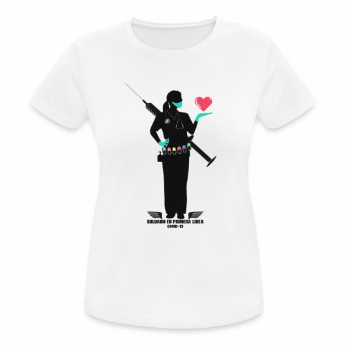 Nuestras Heroinas. - Camiseta mujer transpirable